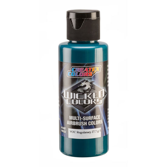 Picture of Wicked W084 Opaque Phthalo Green [like Scenix 7016 Phthalo Green] 120 ml