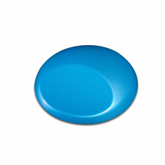 Picture of Wicked W381 Pearl Brite Blue [like Auto-Air 4355 Iridescent Brite Blue] 480 ml