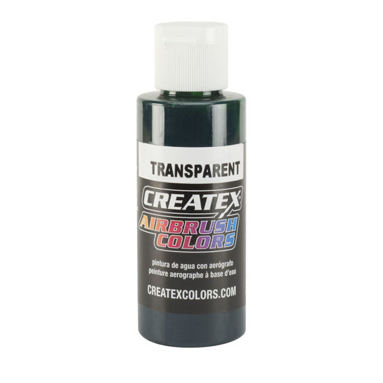 Picture of Createx 5110 Transparent Forest Green (Phthalo Green) 120 ml