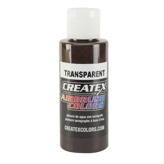 Picture of Createx 5128 Transparent Dark Brown 240 ml