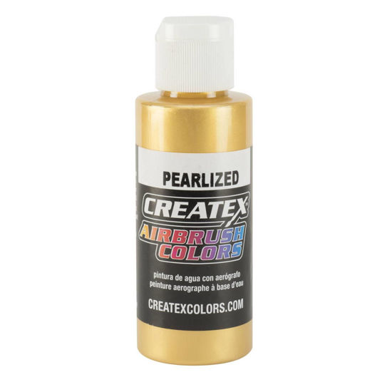 Picture of Createx 5307 Pearl Satin Gold 60 ml