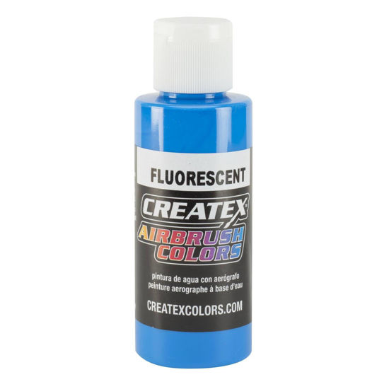 Picture of Createx 5403 Fluorescent Blue 240 ml