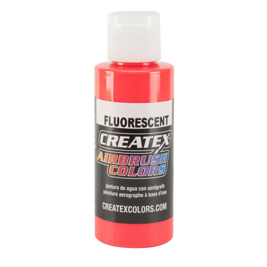 Picture of Createx 5408 Fluorescent Red 120 ml
